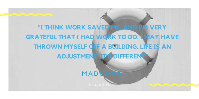 breakup quote madonna
