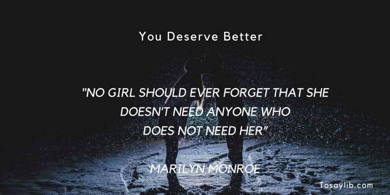 breakup quote marilyn monroe