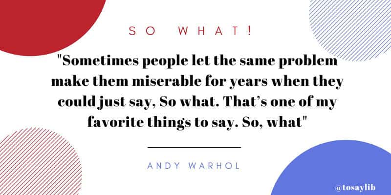 breakup quote andy warhol