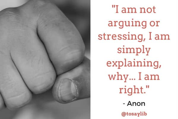 funny quote anon arguing explaining right