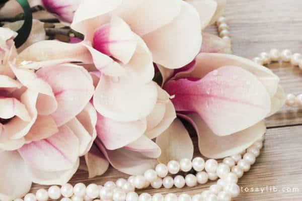 lily pearl wedding
