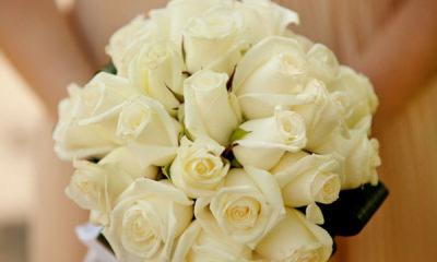 a flower bouquet for wedding
