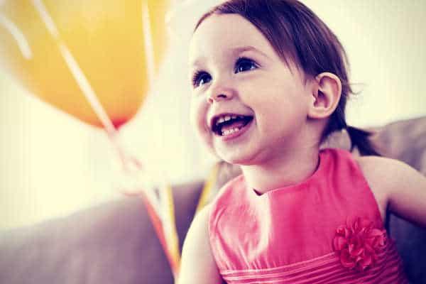 lovely girl ballon birthday