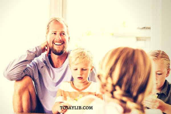 househusband take care all kids family life