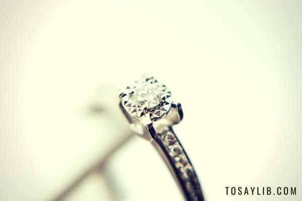 diamond ring diamond in the rough