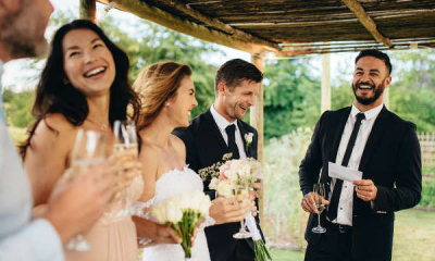 best man speech wedding toasting laughing