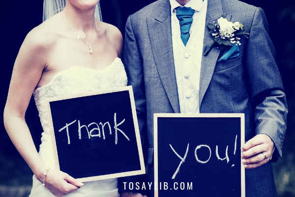 5 Great Wedding Thank You Speech Templates for Brides and