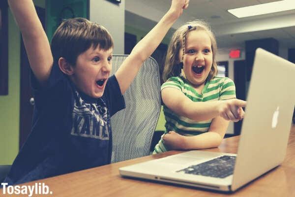 children win success video game