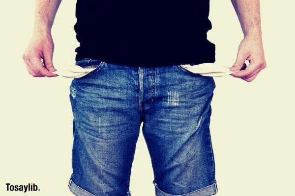 no money poor money on pocket crisis