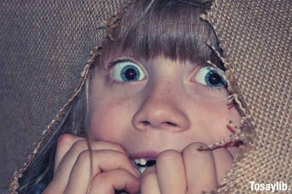 person human girl child eyes face scared