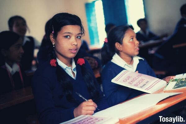 school exam students nepal
