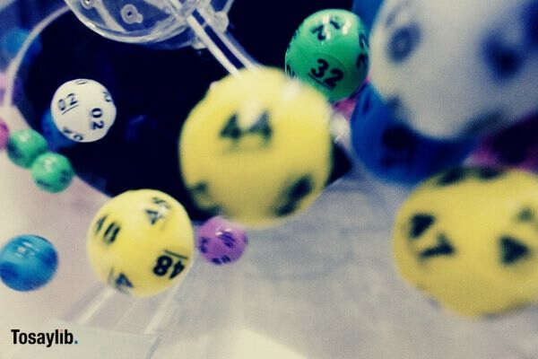 lottery balls shuffle jumble