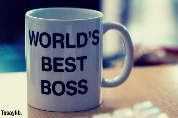 worlds best boss white mug