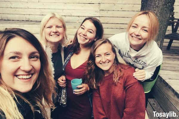 friendship young woman group of people girls friends friends beautiful woman happy girlfriends