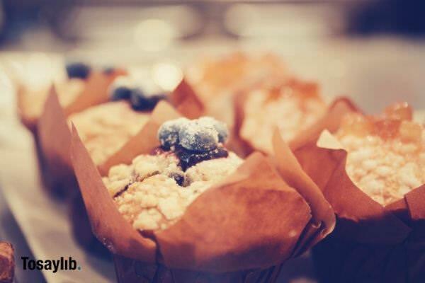 muffins focus shot