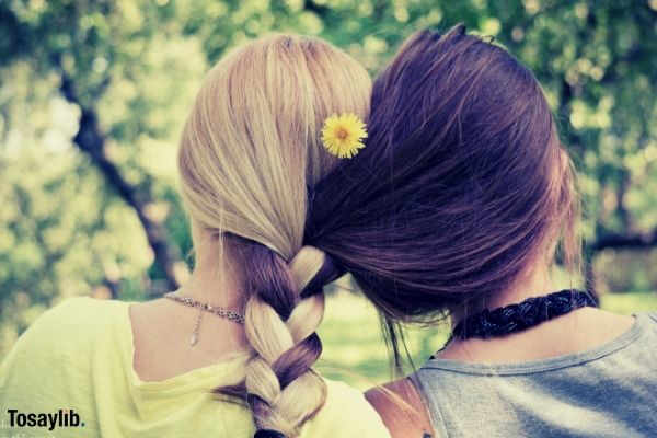 nature yellow summer hair girl warm sunny floral friends hairstyle braid braids best friend