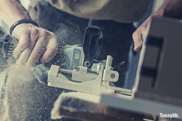 carpenter furnishing wood