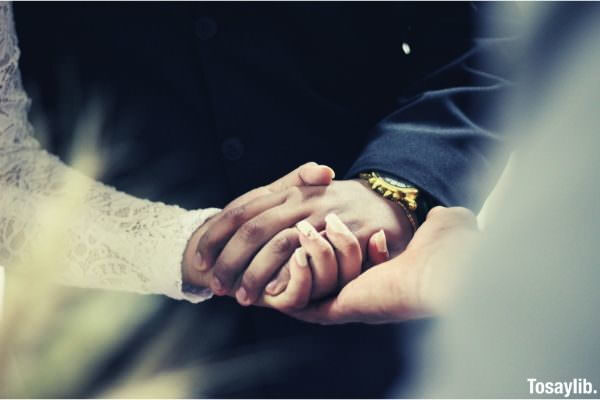 wedding couple s hands photo