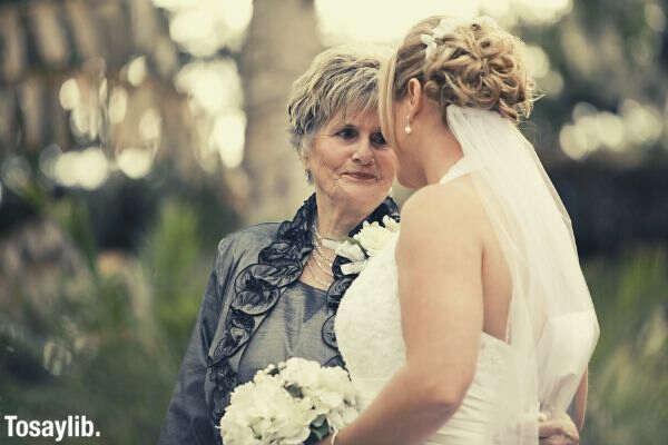 bride grandmother grandma family