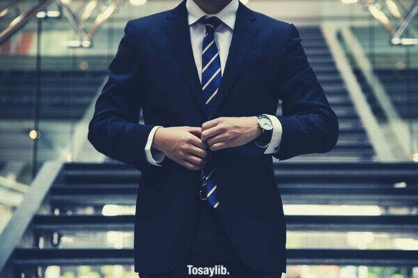 formal suit and tie