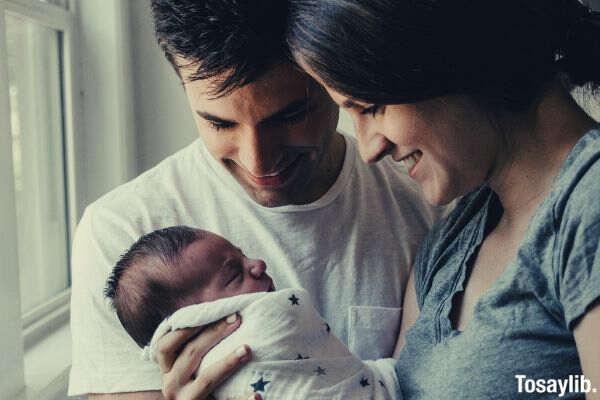 newborn baby family