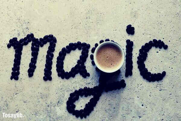 magic in every cup coffee