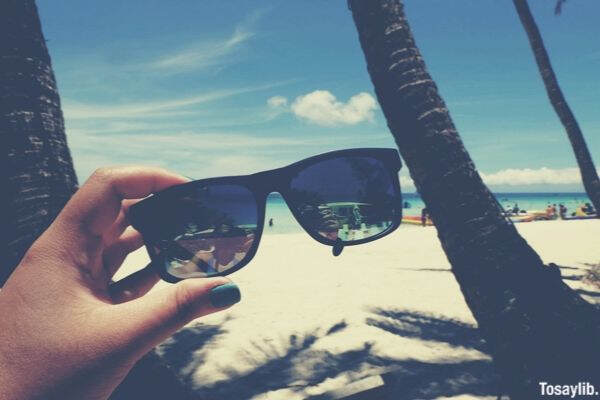 beach side sunglass