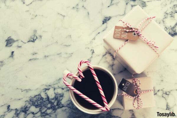 gift hot tea pink box