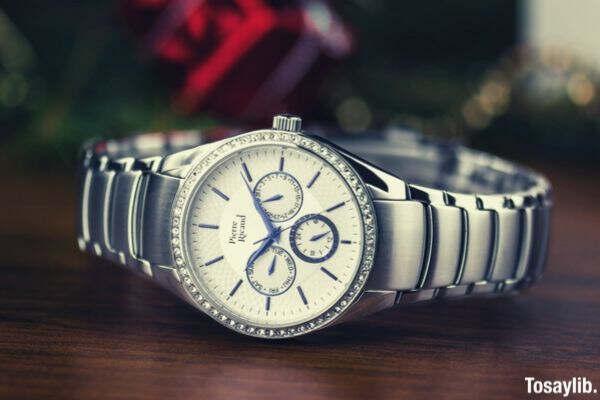 watch silver Pierre Ricaud