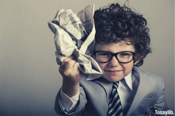 child formal attire roll up paper
