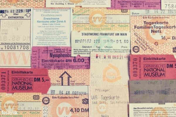 memories of the trip tickets