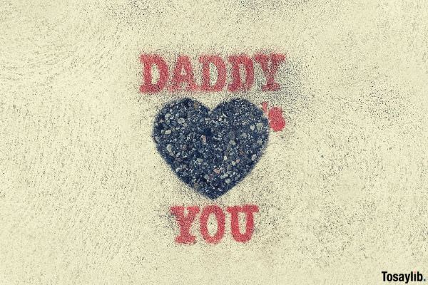 daddy loves you photo