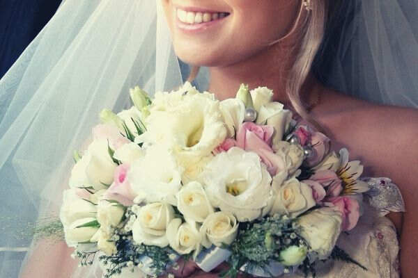 bouquet-hands-smiling-lips-smile-dress-wedding-wedding-wedding-flowers-flowers-bride