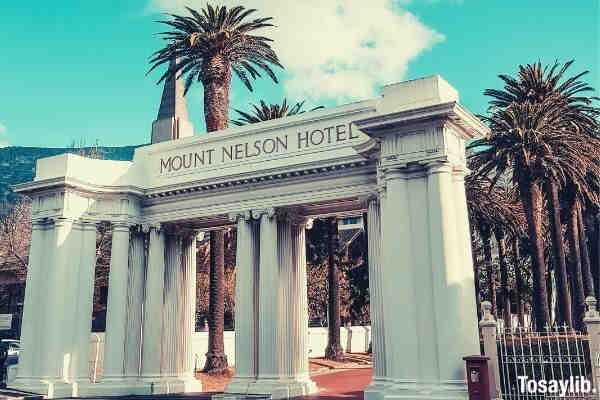mount nelson hotel photo entrance