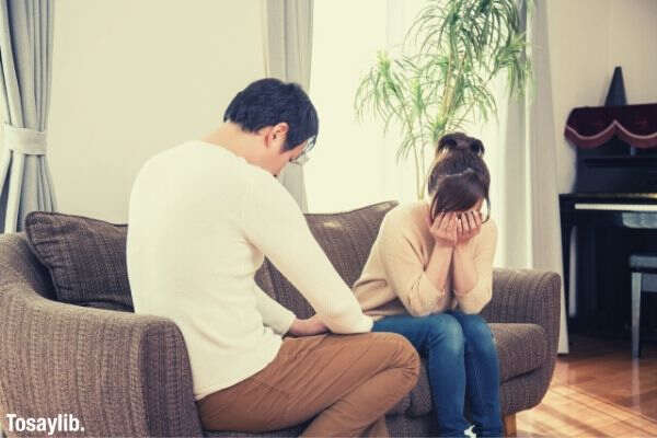 married couple quarrel