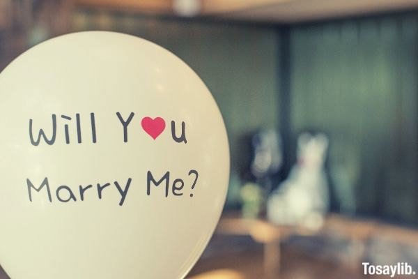will you marry me balloon