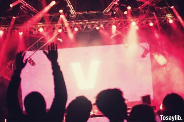 live concert scenery