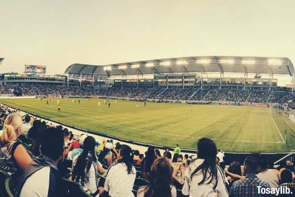 soccer game la galaxy