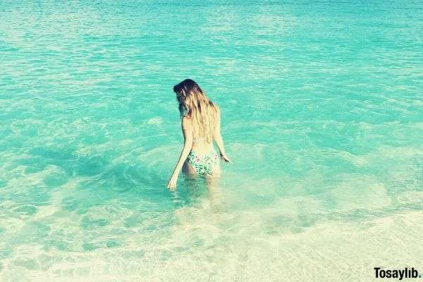 sea beach summer ocean girl bahamas