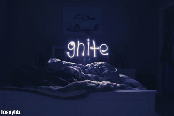 gnite white gray neon sign photography effect