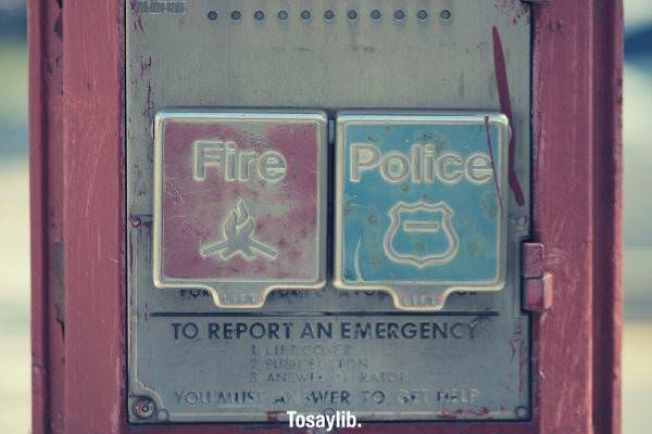 01 fire and police buttons