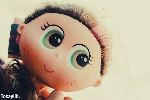 01 baby holding female doll cute long hair big eyes