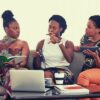 feature-3-three-black-women-talking-to-each-other-words-to-describe-company-culture