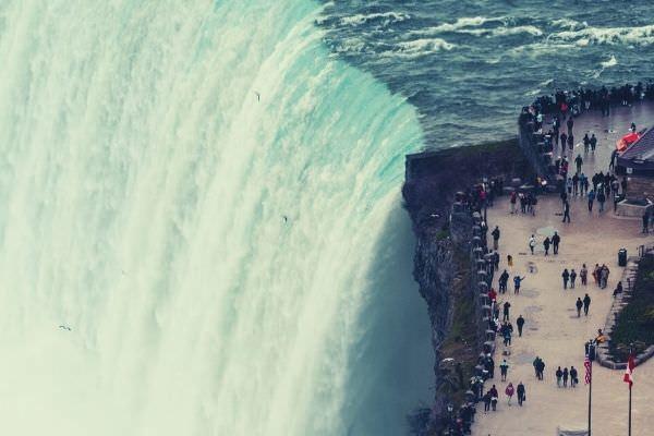 aerial-photo-of-Niagara-falls-waterfall-instagram-captions