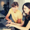two-women-using-laptop-endorsements-on-linkedin