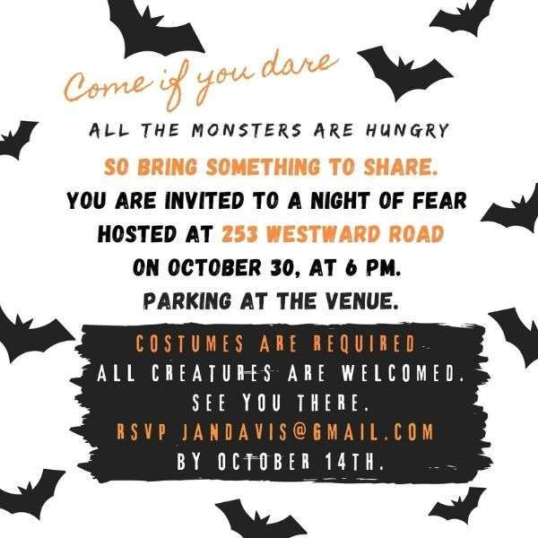 06 halloween invitation for office party 2