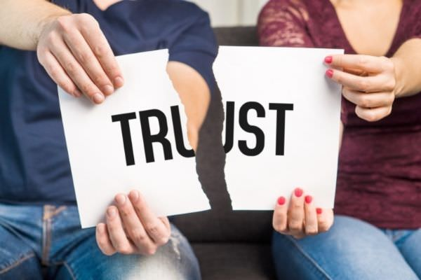 no trust cheating infidelity marital problems paper