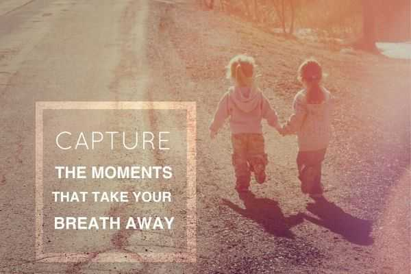 01 inspirational typographic quote capture moments that take your breath away